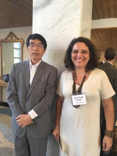 Palestra na Embaixada Japonesa